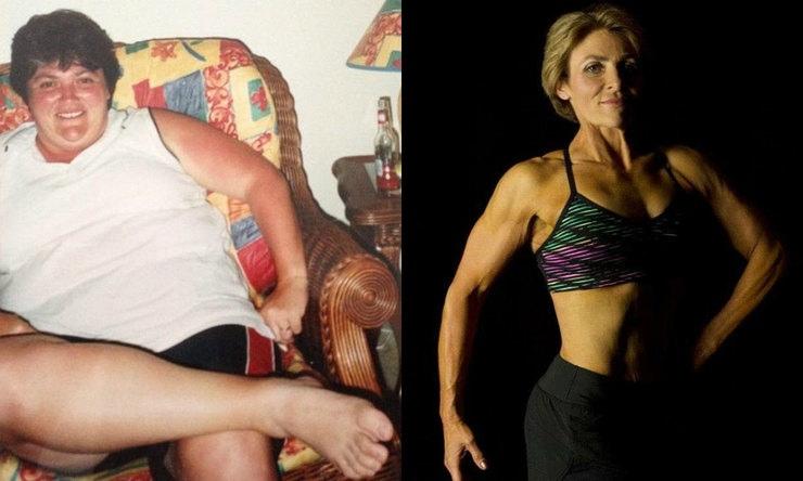 Австралийка впервые надела бикини в 40 лет, после радикального похудения
