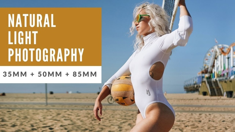 Natural Light Portrait Photography using the 35mm 50mm and 85mm f1 8 S Lenses