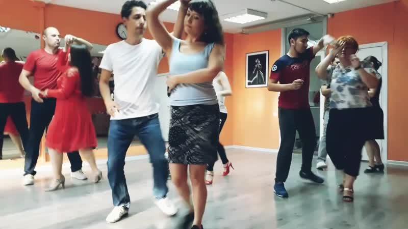 Открытый урок САЛЬСА БАЧАТА Школа танцев Авенида