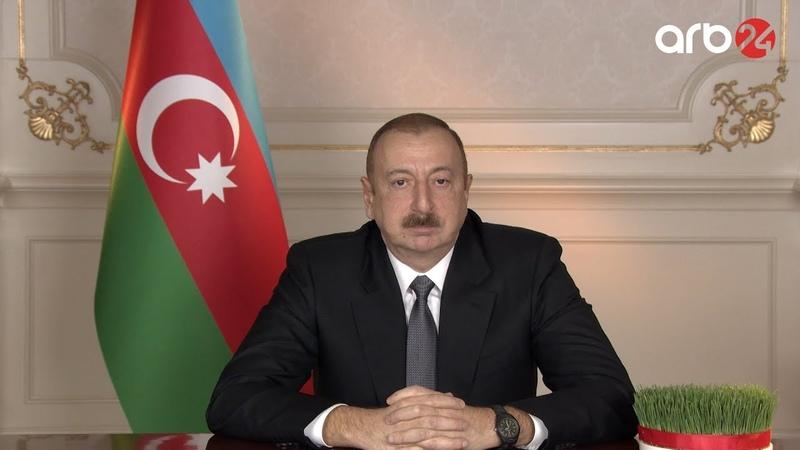 Prezident İlham Əliyevin Novruz bayramı münasibətilə Azərbaycan xalqını təbrik etdi