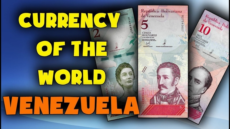 Currency of the world Venezuela Venezuelan bolivar soberano VES Exchange rates Venezuela