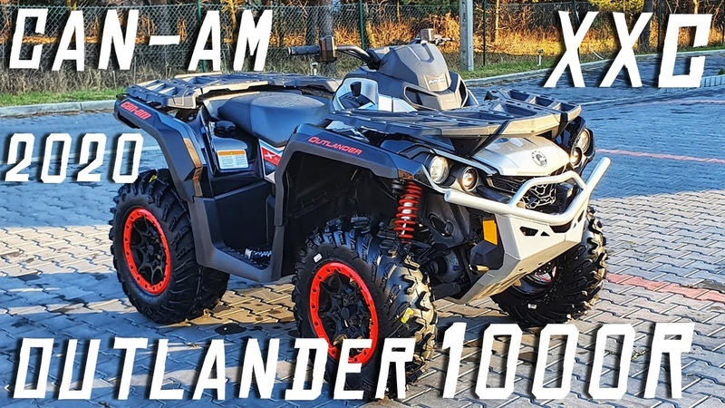 Can Am Outlander XXC 1000 R 2020 ATV Bombardier MotoMaster