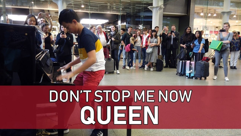 See What Happens When Crowd Demands Encore - Queen Dont Stop Me Now Cole Lam 12 Years Old