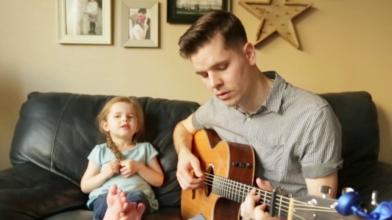 Youve Got a Friend In Me - LIVE Performance by 4-year-old Claire Ryann and Dad
