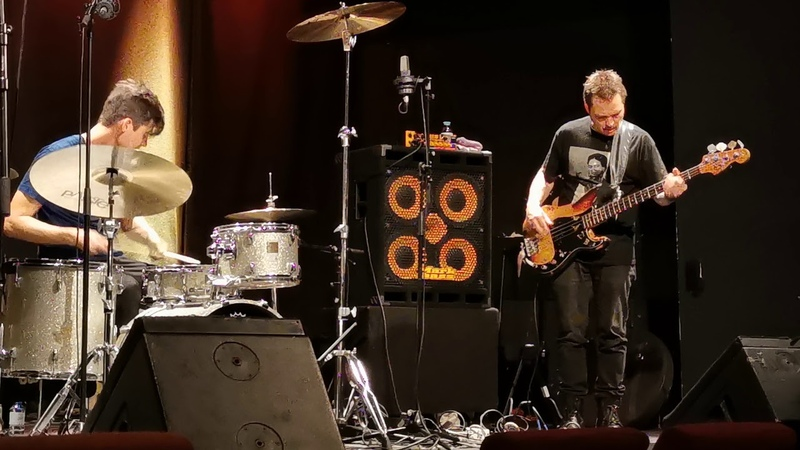 Trevor Dunn w Wendy Eisenberg Trio Live @Porgy and Bess Wien 2 Oct 2019