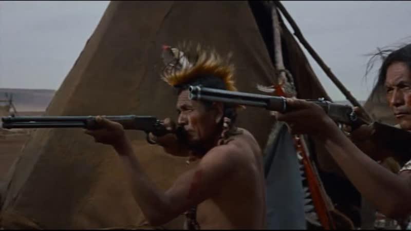 Искатели 1956 Нападение белых на лагерь индейцев