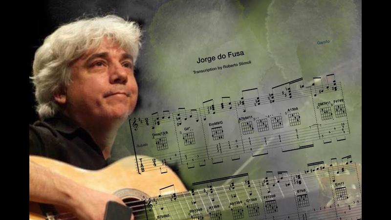 Jorge do Fusa Garoto Lula Galvão Transcription Roberto Stimoli