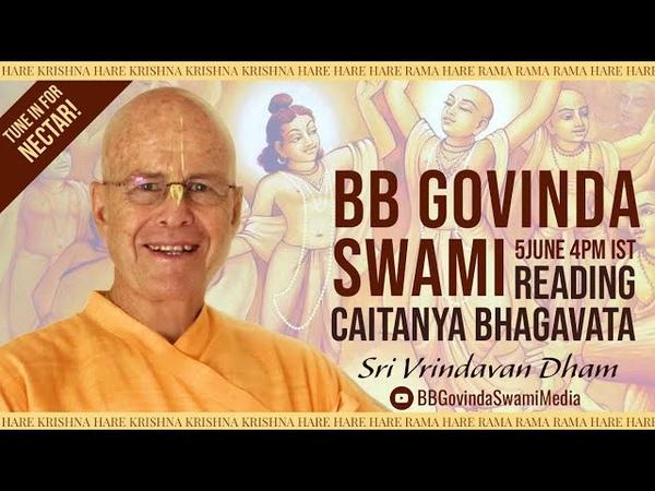 Caitanya Bhagavata reading 5 June 2020