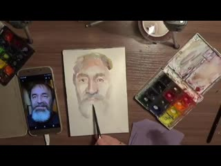 Борисова Оксана портрет мужчины студентка 2 курса магистратуры ХГФ ИИИ МПГУ
