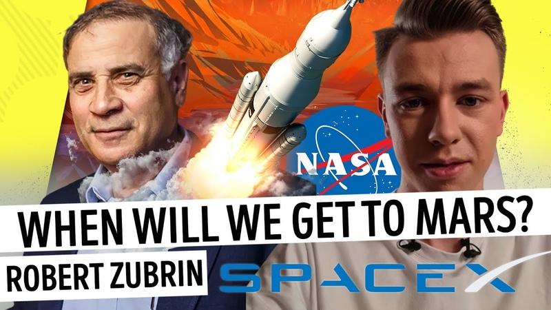 Mars mission in 2030. Robert Zubrin Mustreader podcast