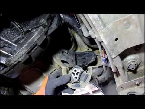 Замена подушек двигателя на Chevrolet Lanos Шевроле Ланос 2006 года