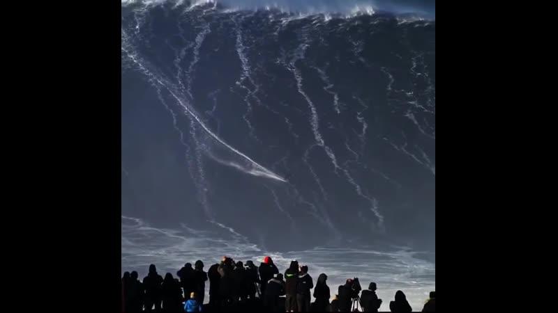 Серфинг по самой большой волне в мире