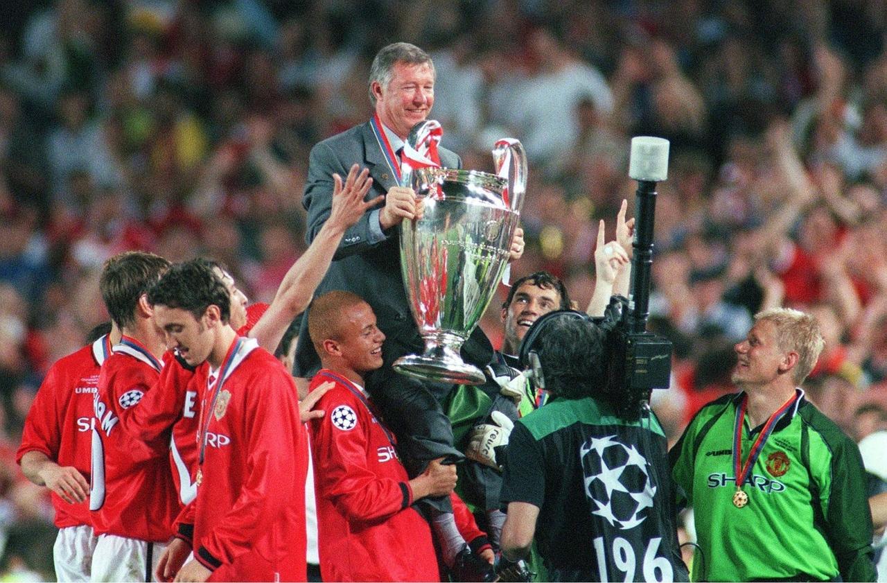 Манчестер Юнайтед - Бавария, 2:1. Финал Лиги чемпионов 1999. Сэр Алекс Фергюсон