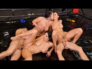 DDFNetwork Kitana Lure, Kira Queen, Honey Demon - XXX Throwdown - Round 2 NewPorn2020