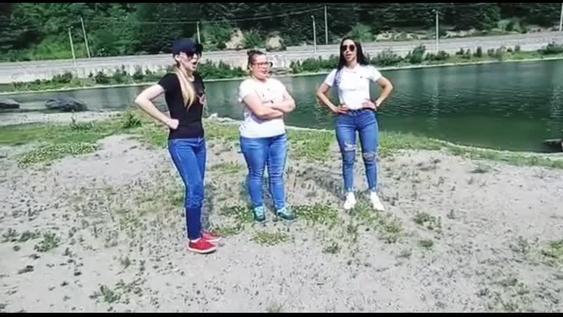 Казачки Кавказа озеро Кара-Кель