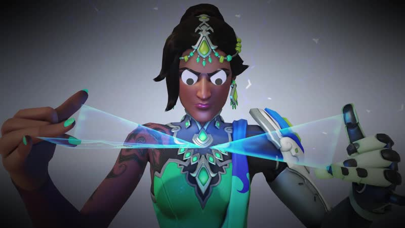 Symmetra with googly eyes is the best incarnation of her yet and you can't tell me otherwise