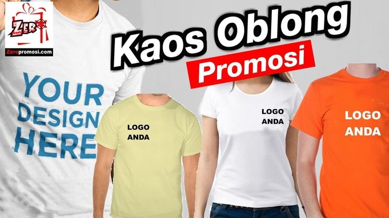 Produksi Kaos Oblong Promosi Murah Kaos Sablon Promosi