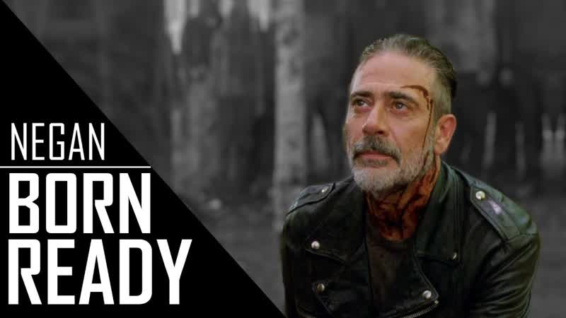 Negan Tribute I Born Ready TWD
