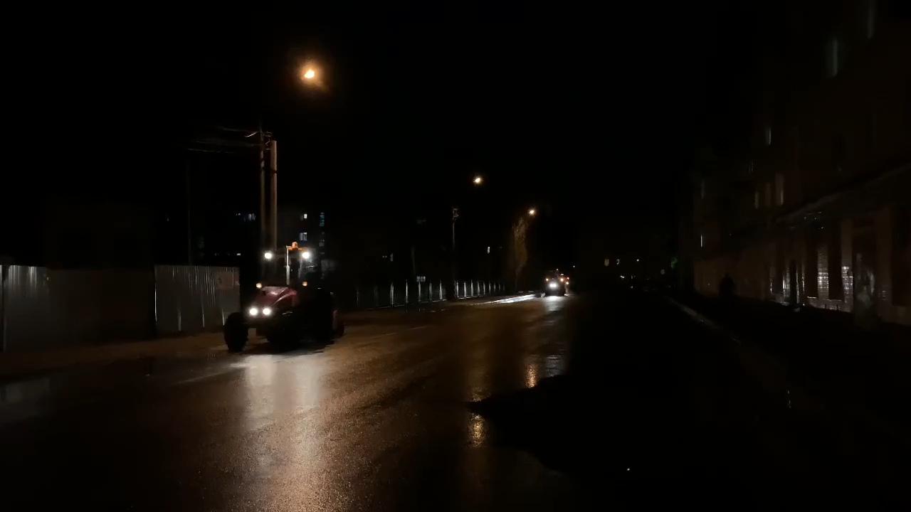 Городское коммунальное предприятие Петровска проводит работы по очистке дорог