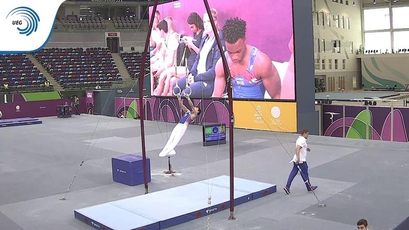 Mukhammadzhon IAKUBOV RUS 2019 EYOF bronze medallist all around