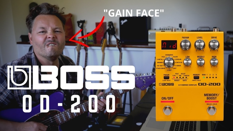 The Boss OD-200 Hybrid Drive Pedal   The Ultimate all-in-one Overdrive Pedal   Tone Tasting