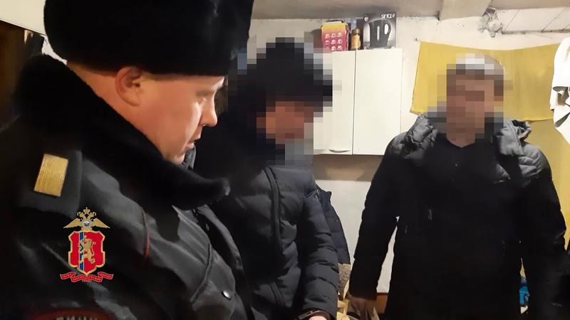 Задержание нападавших на семью в частном доме