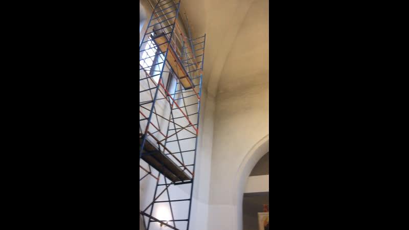 До косметического ремонта Главный зал