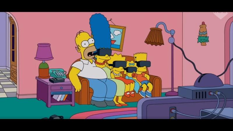 Заставка симпсонов 18 серия 31 сезона We Can Make The World Stop Simpsons