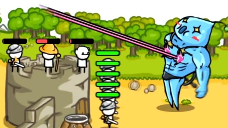 Босс извращенец или эта игра не для детей прохождение Grow Castle 1