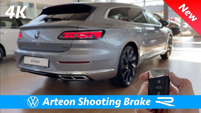 Volkswagen Arteon Shooting Brake R Line 2021 FIRST FULL in depth review in 4K Interior Exterior