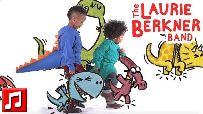 Somos Los Dinosaurios by The Laurie Berkner Band We Are The Dinosaurs in Spanish Español