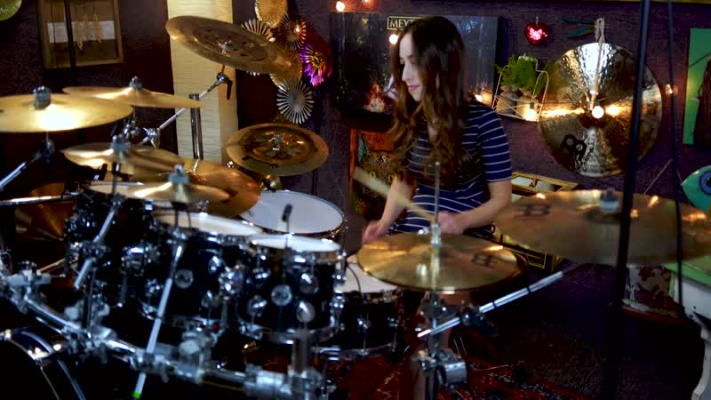 DREAM THEATER PULL ME UNDER DRUM COVER BY MEYTAL COHEN
