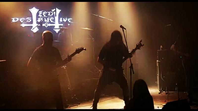 Zed Destructive Repulsive Society Live at Wunderbar 30 11 2019