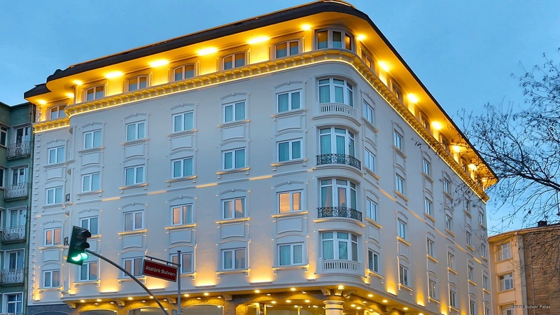 Hotel Bulvar Palas - Фабрика шуб, кожи, меха Levinson Leather Fur, Левинсон, Стамбул
