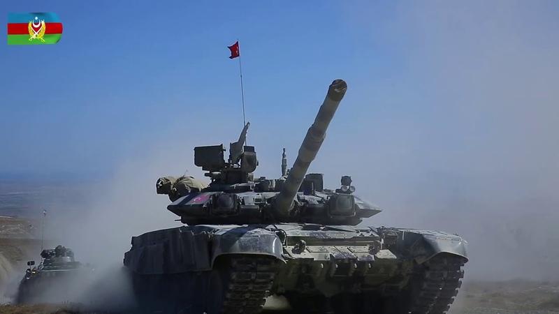 Azərbaycan Türkiyə birgə genişmiqyaslı taktiki təlimləri davam edir