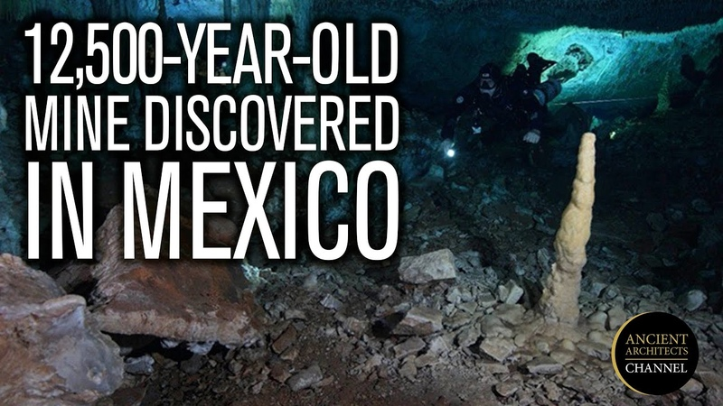 12 500 Year Old Ochre Mine Discovered in Mexico Ancient Architects