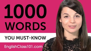 1000 Words Every English Beginner Must Know