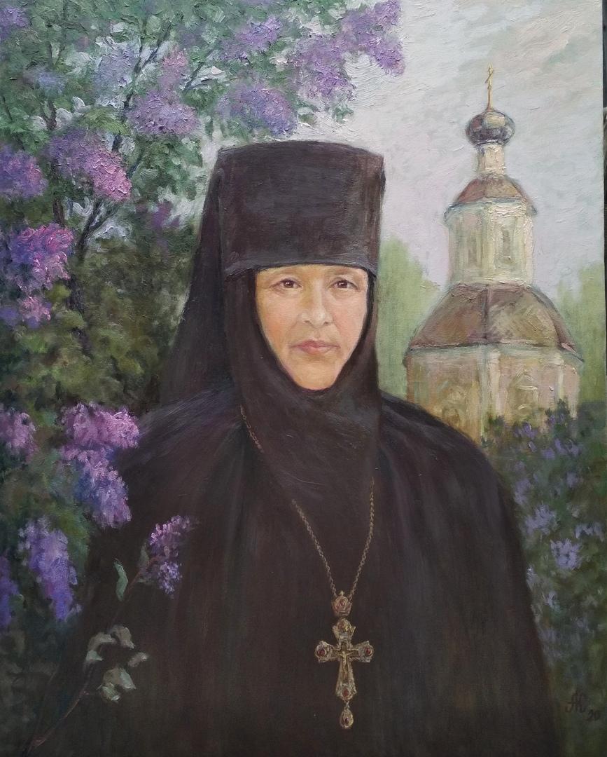 Портрет игуменьи Житенного монастыря Елизаветы